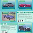COLLECTOR CLASSIC CAR CARDS SET ROADWARRIORS MUSCLECARS