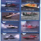 HYDROPLANE RACE BOATS RACING TUNNEL BOAT COLLECTIBLE