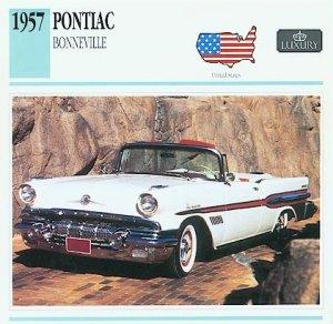 1957 57 PONTIAC BONNEVILLE CONVERTIBLE COLLECTOR