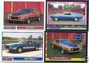 1973 73 FORD MUSTANG MACH 1 COLLECTIBLE COLLECTOR FORDS