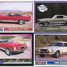 1968 68 FORD MUSTANG SHELBY GT 500 GT500 BASEBALL CARD SIZE COLLECTIBLE NICE