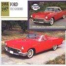 1957 57 FORD THUNDERBIRD T BIRD COLLECTOR COLLECTIBLE