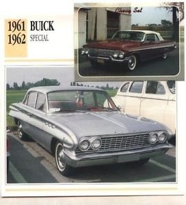 1961 61 BUICK SPECIAL COLLECTOR COLLECTIBLE