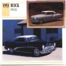 1953 53 BUICK SPECIAL HARDTOP COUPE COLLECTOR COLLECTIBLE