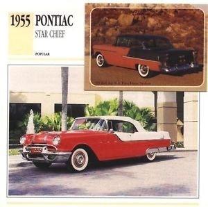 1955 55 PONTIAC STAR CHIEF CONVERTIBLE COLLECTOR COLLECTIBLE
