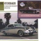 1955 55 STUDEBAKER COMMANDER PRESIDENT SPEEDSTER COLLECTOR COLLECTIBLE