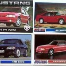 1993 93 FORD MUSTANG SVT COBRA GT 5.0 COLLECTOR COLLECTOR COLLECTIBLE MUSTANGS