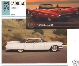 1959 59 CADILLAC DEVILLE FOUR DOOR SEDAN SERIES 62 COLLECTIBLE COLLECTOR