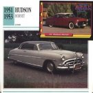 1951 51 1952 52 1953 53 HUDSON HORNET COLLECTOR COLLECTIBLE