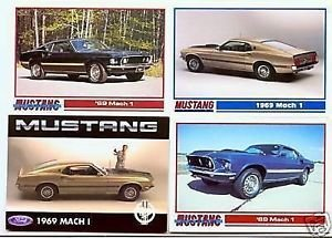 1969 69 FORD MUSTANG MACH 1 COLLECTOR COLLECTIBLE