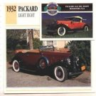 1932 32 PACKARD LIGHT EIGHT COUPE ROADSTER COLLECTOR COLLECTIBLE
