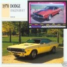 1970 70 DODGE CHALLENGER R/T RT MOPAR COLLECTOR COLLECTIBLE