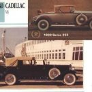 1930 30 CADILLAC V8 SERIES 353 COLLECTOR COLLECTIBLE