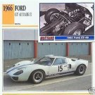 1966 66 FORD GT 40 MARK II 1965 GT-40 COLLECTOR COLLECTIBLE