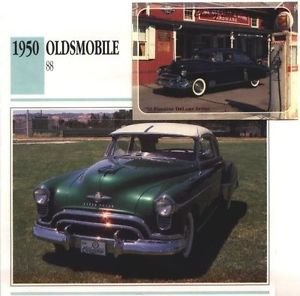1950 50 OLDS OLDSMOBILE 88 HOLIDAY COUPE COLLECTOR COLLECTIBLE