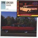 1956 56 LINCOLN PREMIERE COLLECTOR COLLECTIBLE