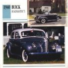 1940 40 BUICK ROADMASTER 71 COLLECTOR COLLECTIBLE