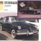 1953 53 STUDEBAKER CHAMPION REGAL COLLECTOR COLLECTIBLE