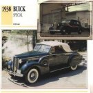 1938 38 BUICK SPECIAL CONVERTIBLE COUPE COLLECTOR COLLECTIBLE