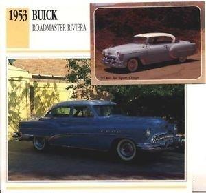 1953 53 BUICK ROADMASTER RIVIERA COLLECTOR COLLECTIBLE