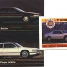 1992 CADILLAC COUPE DEVILLE 92 SEVILLE COLLECTOR COLLECTIBLE