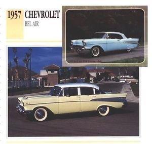1957 57 CHEVROLET CHEVY BELAIR BEL AIR COLLECTOR COLLECTIBLE