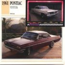 1961 61 PONTIAC VENTURA COLLECTOR COLLECTIBLE