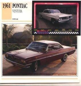 1961 61 PONTIAC VENTURA COLLECTOR COLLECTIBLE