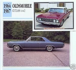 1964 64 OLDS OLDSMOBILE CUTLASS COUPE 442 COLLECTOR COLLECTIBLE
