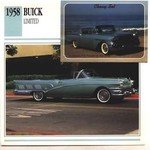 1958 58 BUICK LIMITED CONVERTIBLE COLLECTOR COLLECTIBLE