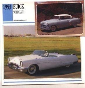 1953 53 BUICK WILDCAT I SHOWCAR CONVERTIBLE COLLECTOR COLLECTIBLE