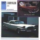 1957 57 CHRYSLER 300 C COLLECTOR COLLECTIBLE