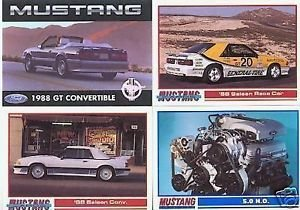 1988 88 FORD MUSTANG SALEEN GT COLLECTOR COLLECTIBLE