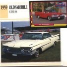 1959 59 OLDS OLDSMOBILE SUPER 88 HOLIDAY HARDTOP SEDAN COLLECTOR COLLECTIBLE