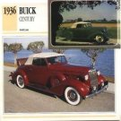 1936 36 BUICK CENTURY CONVERTIBLE COUPE COLLECTOR COLLECTIBLE