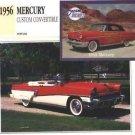 1956 56 MERCURY CUSTOM CONVERTIBLE COLLECTOR COLLECTIBLE