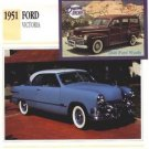 1951 51 FORD CUSTOM DELUXE VICTORIA COLLECTOR COLLECTIBLE