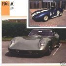 1964 64 AC A98 COBRA FORD SHELBY DAYTONA COLLECTOR COLLECTIBLE