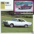 1966 66 FORD FAIRLANE 427 COLLECTOR COLLECTIBLE FORDS