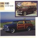 1951 51 FORD COUNTRY SQUIRE STATION WAGON COLLECTOR COLLECTIBLE