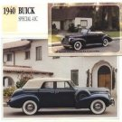 1940 40 BUICK SPECIAL 41C COLLECTOR COLLECTIBLE
