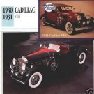 1930 30 1931 31 CADILLAC V16 V 16 CUSTOM SPORT ROADSTER COLLECTIBLE COLLECTOR