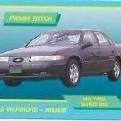 1992 92 FORD TAURUS SHO COLLECTOR COLLECTIBLE