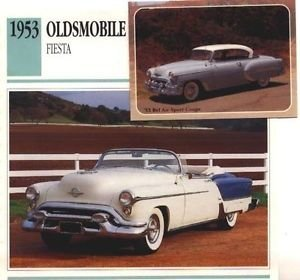 1953 53 OLDSMOBILE FIESTA CONVERTIBLE COLLECTOR COLLECTIBLE