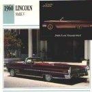 1960 60 LINCOLN MARK V CONVERTIBLE COLLECTOR COLLECTIBLE