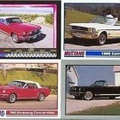 1966 66 FORD MUSTANG CONVERTIBLE COLLECTIBLE CARDS NICE