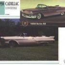 1958 58 CADILLAC CONVERTIBLE COLLECTOR COLLECTIBLE