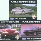 1995 1996 1997 97 FORD MUSTANG GT SVT COBRA COLLECTOR