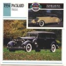 1934 34 PACKARD TWELVE COLLECTOR COLLECTIBLE