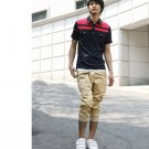 2504100001 Mens casual middle cargo pants